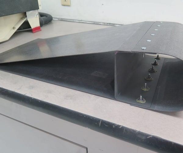 Carbon Fiber Aircraft Flap