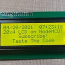 Connect LCDs With NodeMCU and Arduino
