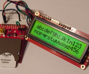 Wiring and Programming the Electric Imp With an LCD Display