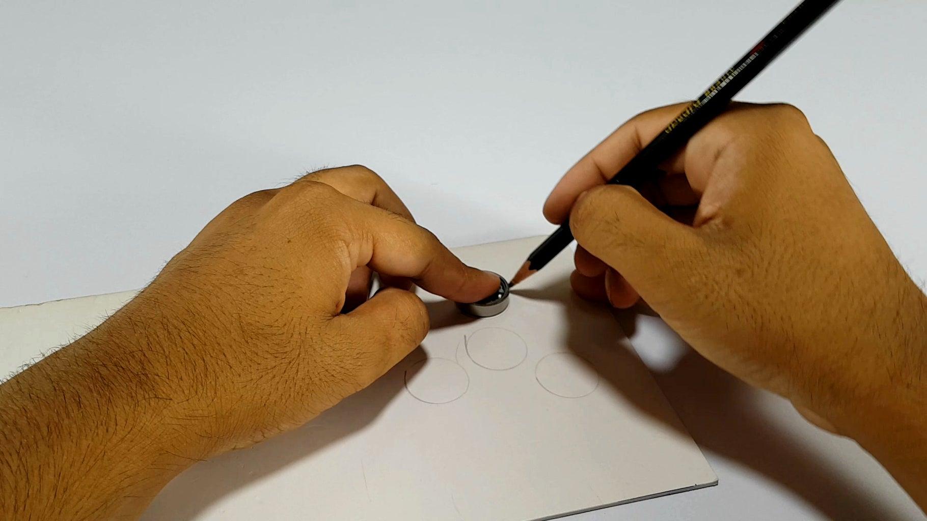 Procedure: Make Mould for Fidget Spinner