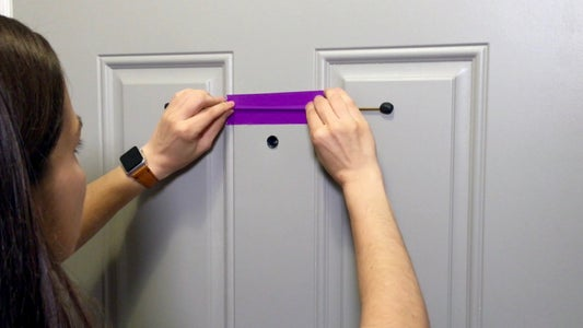 Attach Bar to Front Door With Sugru