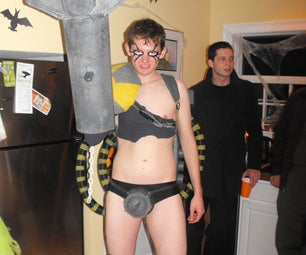 Techno Destructo From GWAR Costume