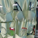Soft Pockets Safety Glasses Storage