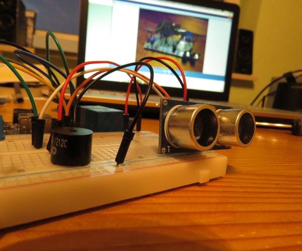 Arduino Alarm With Ultrasonic Sensor