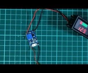 3.7 Volt to 12 Volt Inverter