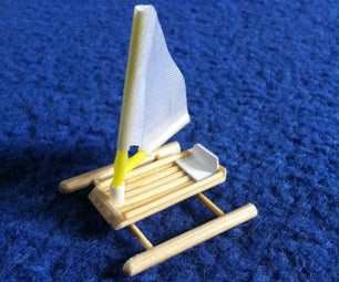 Mini Pontoon Boat