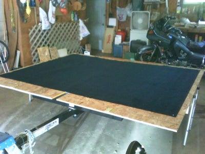 The Deck, Adding Carpet.