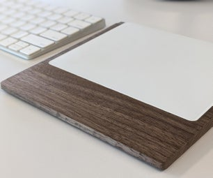 Wooden Trackpad Rest