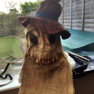 How to Make a Scary Scarecrow Mask (With Moveable Jaw)