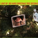 SIMPLE DIY DIE HARD Christmas Tree Decoration - Yippee-ki-yay It Lights Up!!