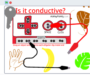 Virtual Makey Makey With Scratch