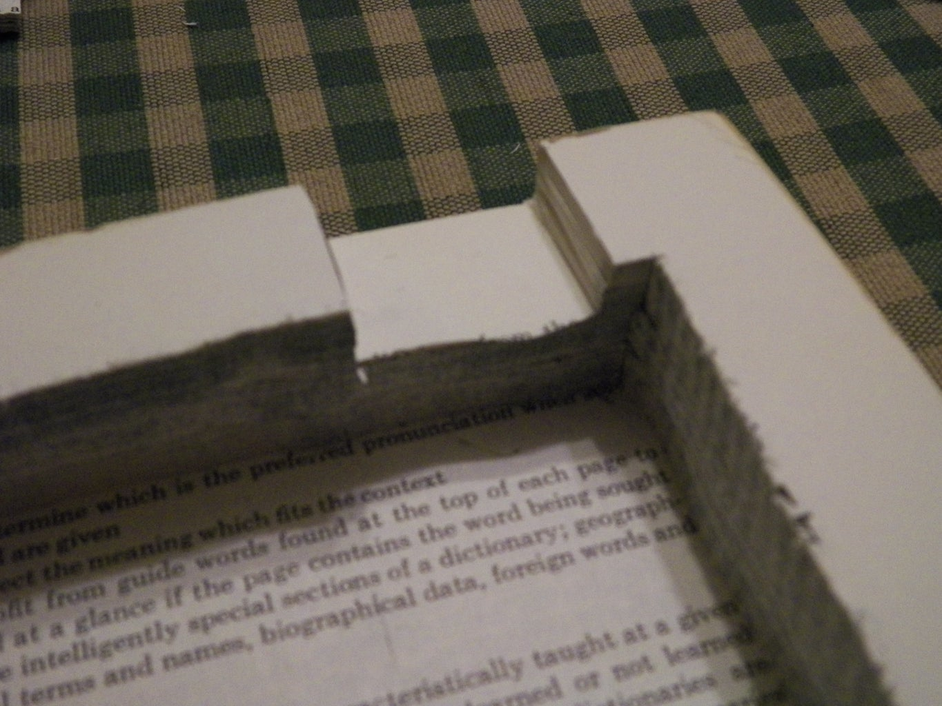 Preparing Your Hollow Book Safe