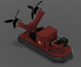 Firefighting Hovercraft