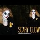 Tutorial SCARY CLOWN Makeup + Costume + Hair