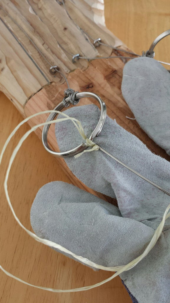 Wire and Bungee and Gloves