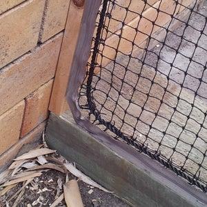 Attaching the Net - Zipper