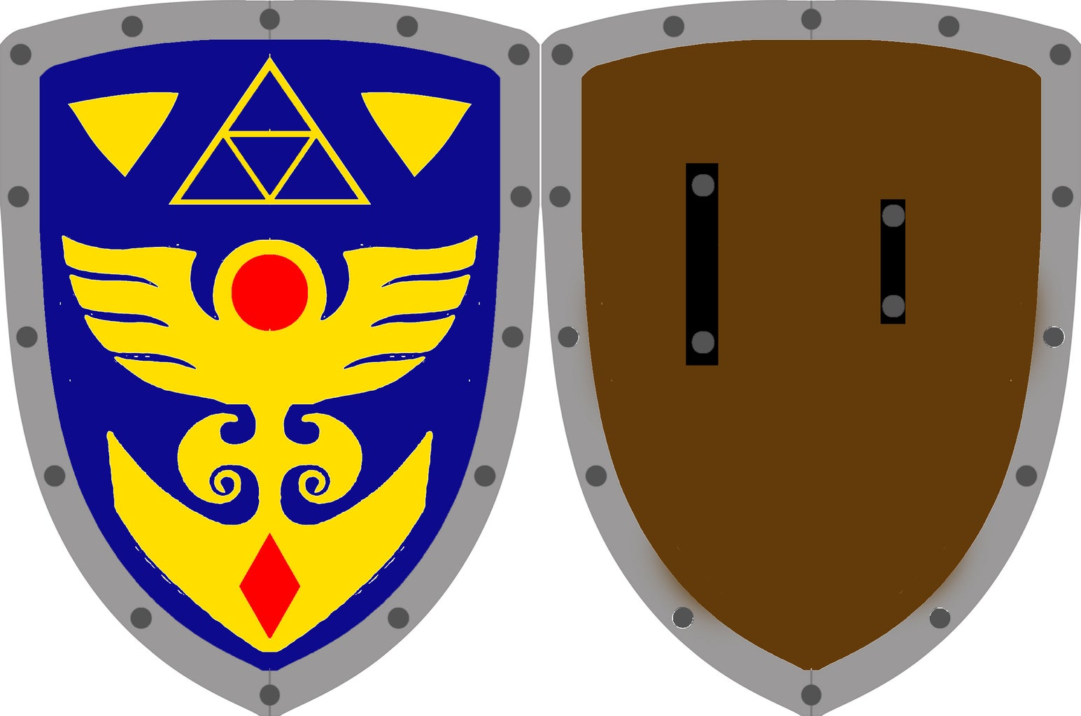 Link's Hylian Shield the Legend of Zelda: a Link to the Past