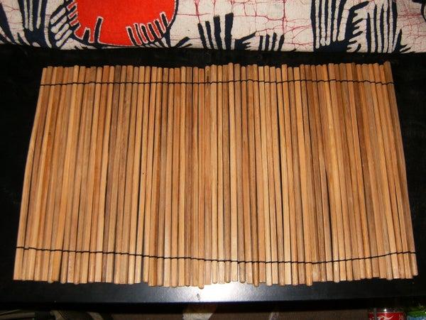 Easy Bamboo(chopsticks) Place Setting