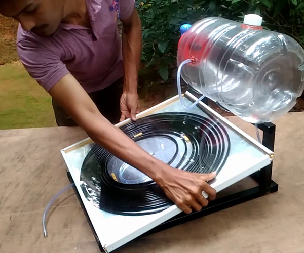 How to Make Solar Water Heater