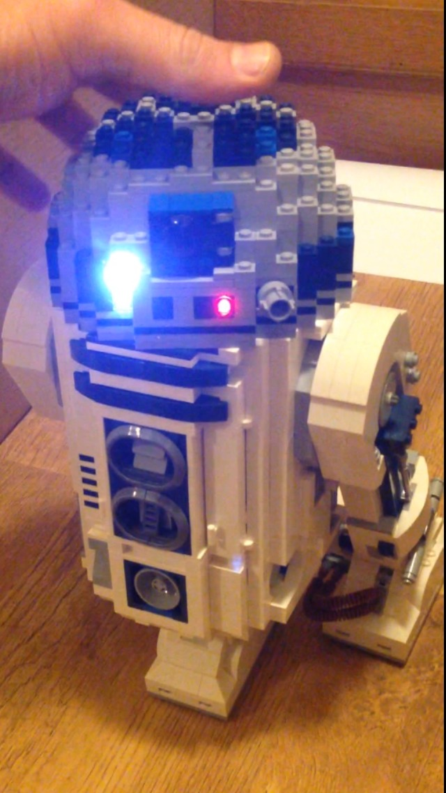 Lego R2D2 Led And Sound Mod