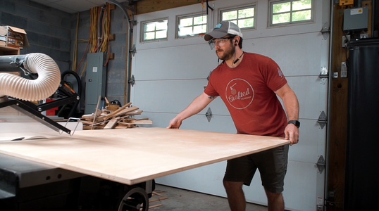 Cutting Out Plywood