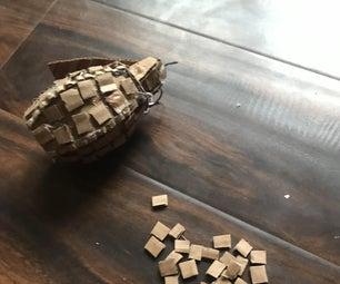 How to Make a Cardboard Gernade
