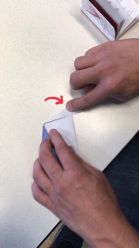 Fold Top Corner Forward
