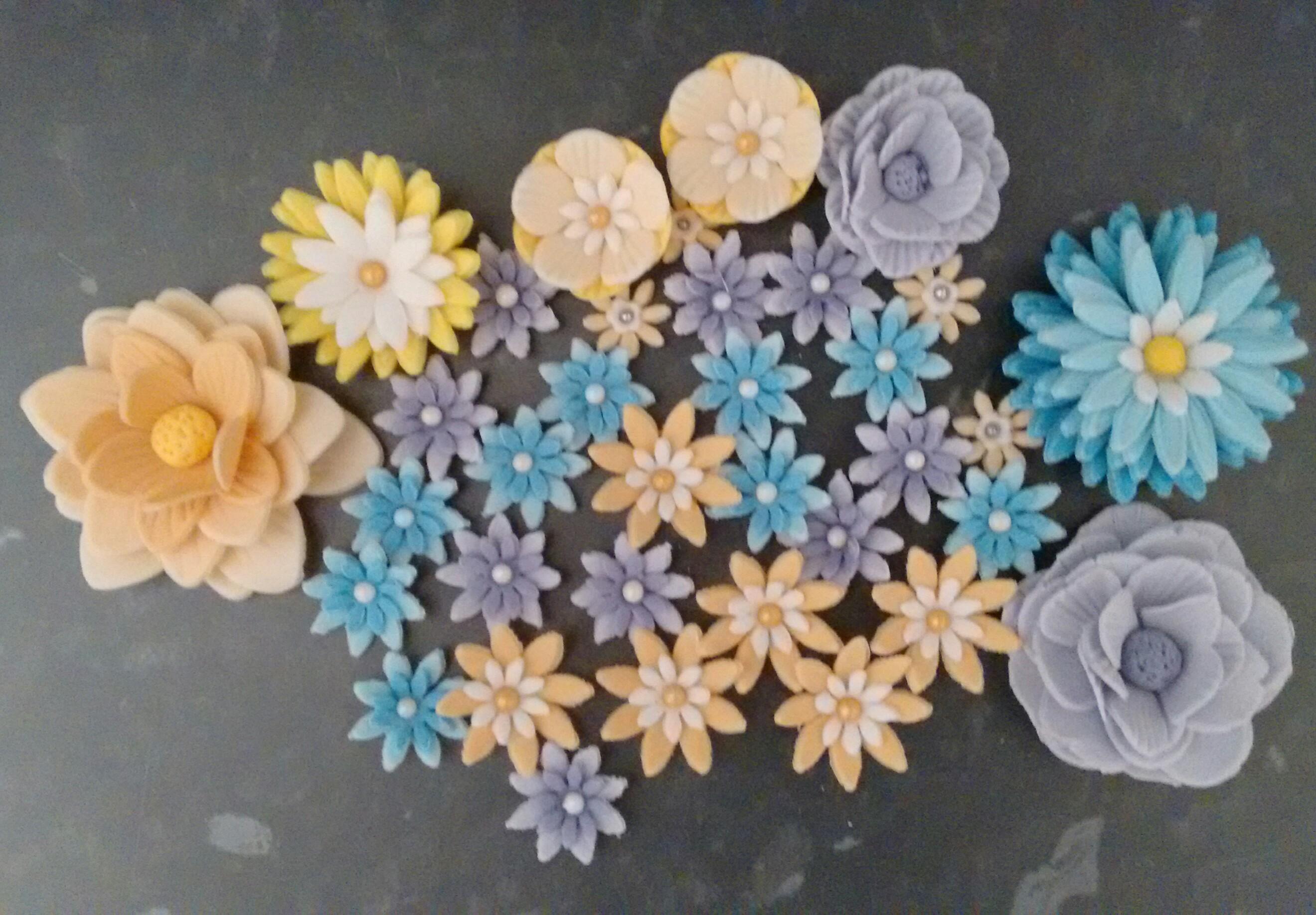 Perfect fondant flowers