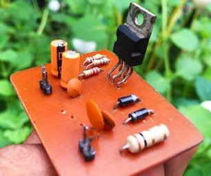 TDA2030放大器电路12V