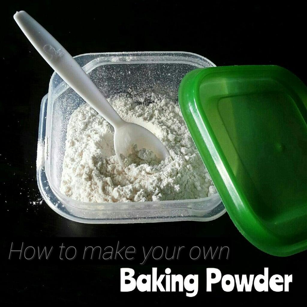 Make Your Own (Gluten-free) Baking Powder!