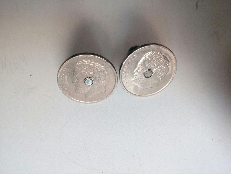 Cufflinks From Old Coins (Bonus: Steampunk)
