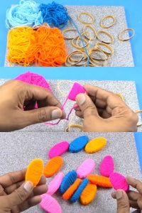 Let's Cover All the Rings Using the Woolen Thread!