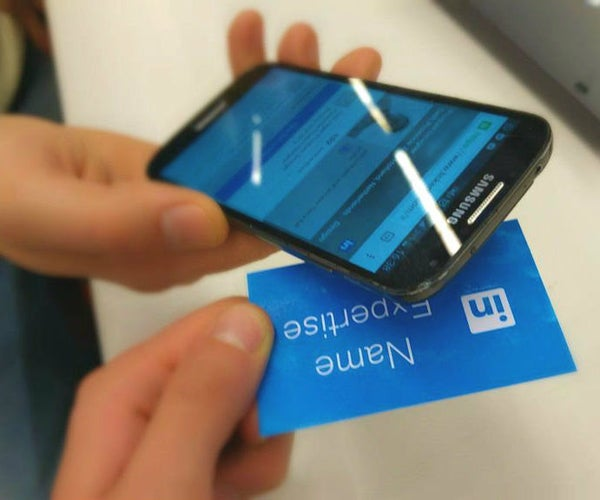 Digital Business Card With NFC