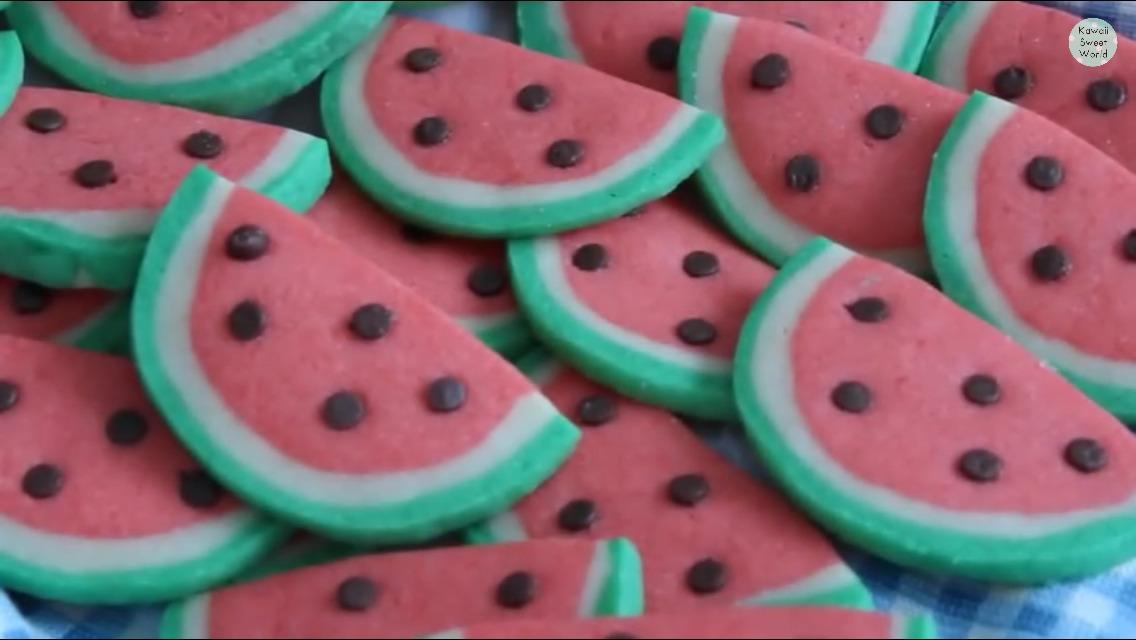 Watermelon  Cookies??