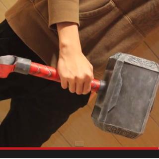 Simple Cardboard Thor Hammer