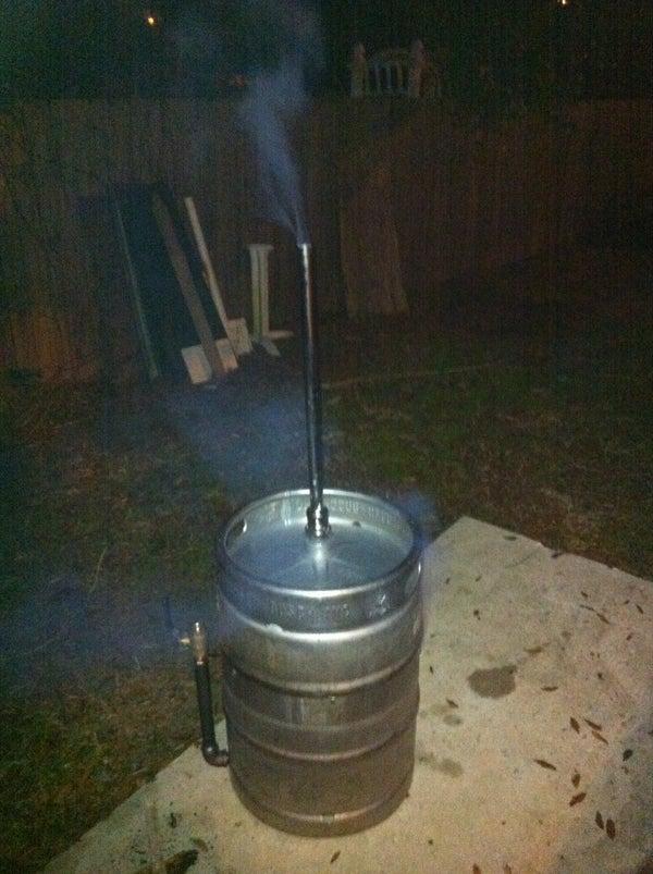 Beer Keg Smoker
