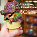 Plant-based Colorful Sorbet