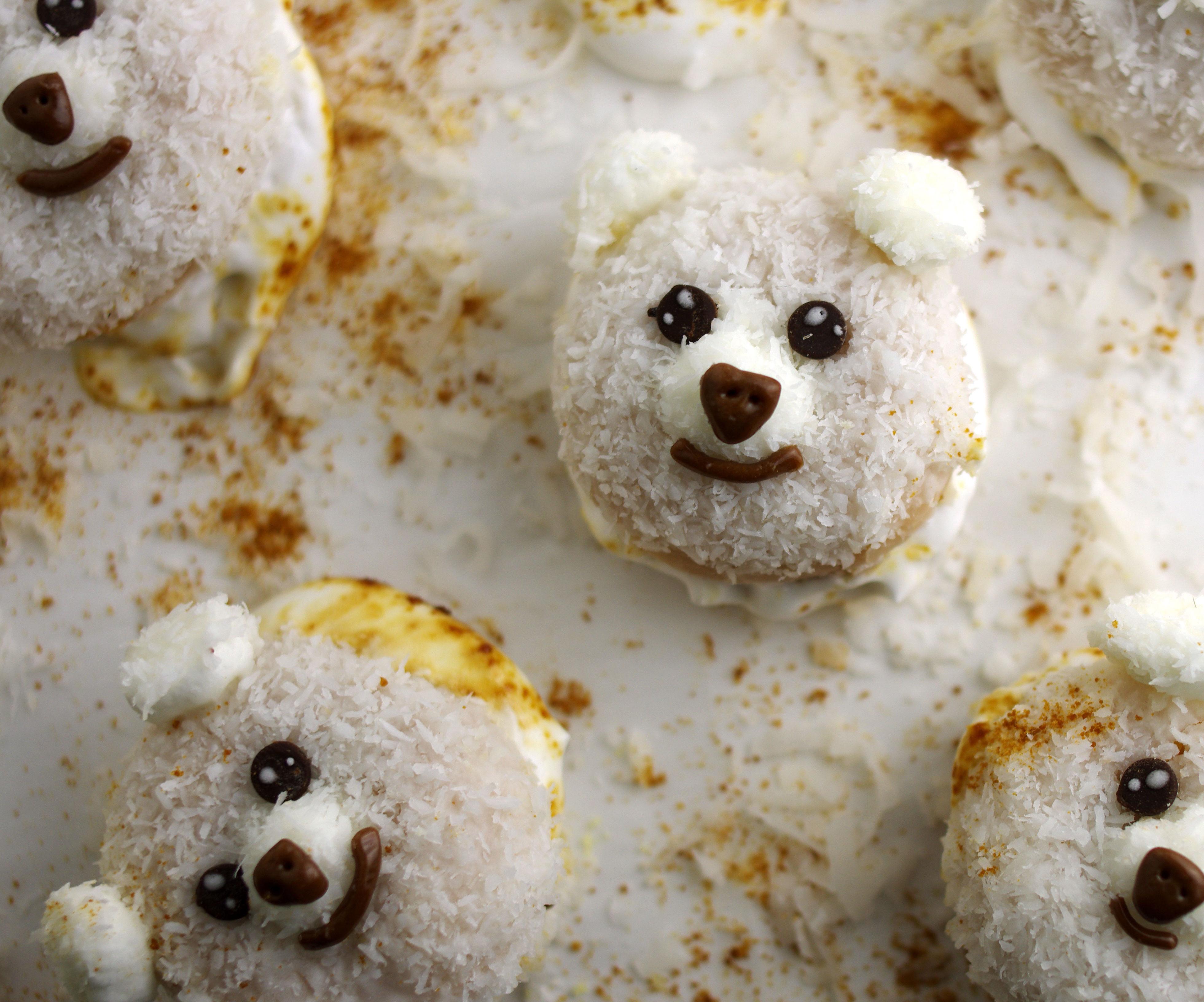 Coconut Doughnut Creatures