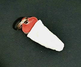 Super Glue and Baking Soda - Plastic Key Pocket Protector