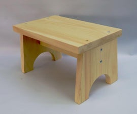Build a Step Stool in an Hour