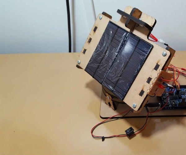 Self-sustaining Solar Tracker
