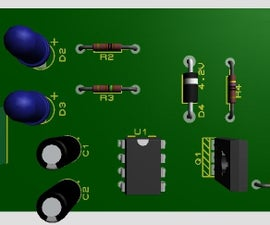 Simple 4V Lead Acid Battery Charger