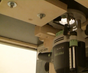 Router Table for a Mafell Erika Table Saw