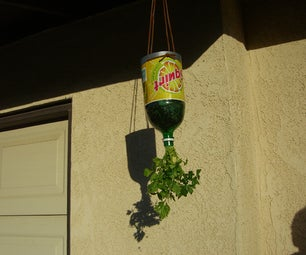 Go Green Upside Down Hanging Planters