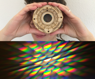 Diffraction Grating Kaleidoscope