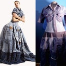 Recycled Denim Dress