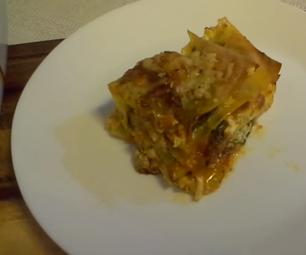 Tuna Fish Lasagna