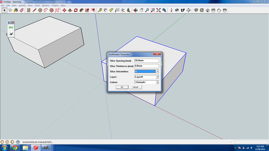 Create a Test Object in Sketchup