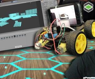 房间映射arduino机器人与团结3d