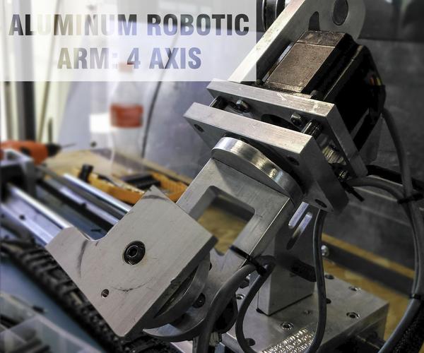 Aluminum Robotic Arm